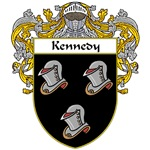 Kennedy Coat of Arms (Mantled)