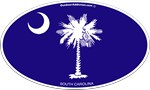 Charleston South Carolina Stickers and magnets