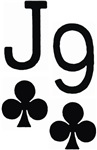 Jack of Clubs Nine of Clubs
