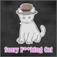 Scary F**king Cat