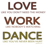 Love like you don't need the money