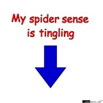 My spider sense is tingling