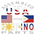 USA / Filipino Parts Grey