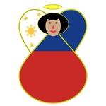 Filipino Flag Angel