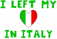 I Left My Heart In Italy