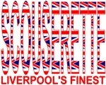 Scouserette - Buttons, Magnets & Stickers