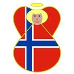 Norwegian Flag Angels