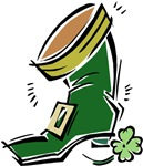 Leprechaun Boot T-shirts & Gifts