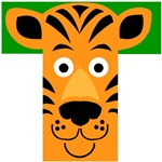 T is for Tiger T-shirts & Gifts