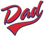Baseball Swoosh Dad T-shirts & Gifts