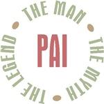 Pai Brazilian Dad Man Myth Legend T-shirts Gifts