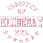 Property of Kimberly Personalized T-shirts Gifts