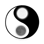 Yin Yang Moon Sun
