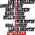 Lacrosse Attack Terms