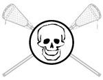Lacrosse Skull 6