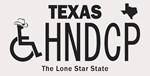 Texas Handicap Plate