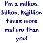 Million, Billion, Kajillion