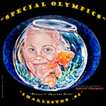 My Donation painting to Special Oylmpics