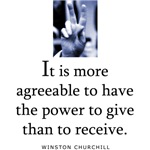Power to give