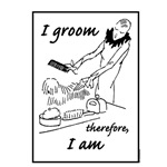 I Groom, Therefore I Am