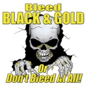 BLEED BLACK & GOLD