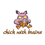 Chick With Brains - Apparel