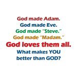God Loves All - Apparel