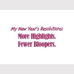 NY Resolutions - Apparel