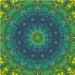 Cellular Art Mandala