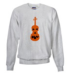 Violin Jack o'Lantern for Teens and Adults