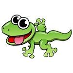 Cartoon Gecko