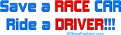 Save A RACE CAR ride a DRIVER 1