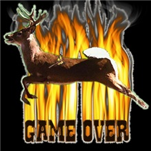 deer hunting game over