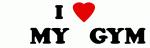 I Love      MY    GYM