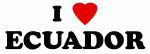 I Love ECUADOR