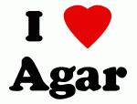 I Love Agar