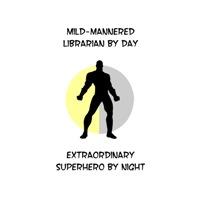 Librarian Superhero