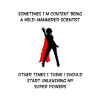 Superheroine Scientist