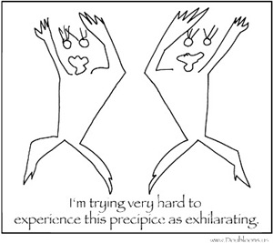 Exhilarating Precipice