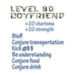 Level 80 Boyfriend