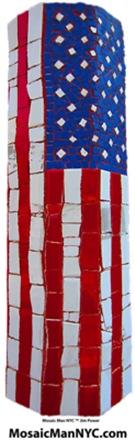 MosaicManNYC American Flag