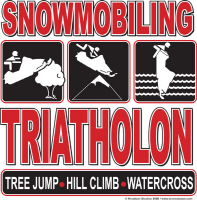 Snowmobiling Triathlon