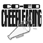 co-ed cheerleading