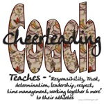 Cheer Coach Floral Pattern