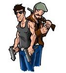 Dr.Action Cartoon Design 2