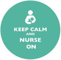 Keep Calm and Nurse On Teal