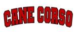 Cane Corso Red Sport Design