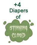 +4 Diapers of Stinking Cloud