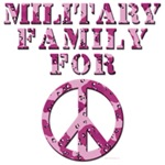 Military Family for Peace - Pink