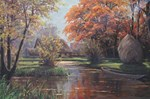Vintage Autumn Painting
